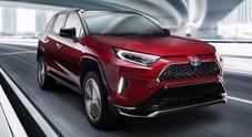 Toyota RAV4 Plug-in Hybrid, potenza ed efficienza grazie alla spina