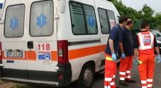 Incidente stradale, tre feriti Il più grave portato all'ospedale regionale