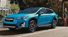 Subaru, a Los Angeles debutta il Crosstrek Hybrid. Versione Usa del XV avrà 30 km in modalità elettrica