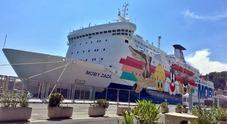 Immagine Traghetto Moby bloccato a Bastia per uno sciopero