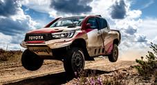 Alonso, test in Polonia a bordo del Toyota Hilux. La Dakar 2020 sempre più vicina