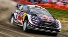 Rally Catalogna, Ogier (Ford) subito il più veloce. Neuville (Hyundai) e Tanak (Toyota) ad una incollatura