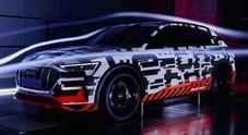 Audi e-tron, più autonomia grazie a Cx 0,28. Coefficiente aerodinamico da record per un Suv