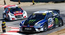 WRX, le Volkswagen Polo di Kristoffersson e Solberg trionfano in Canada