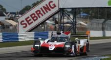 Alonso su Toyota LMP1 ibrida vince la 1000 Miglia di Sebring
