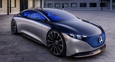 Mercedes Vision EQS: l'ammiraglia di domani a emissioni 0 e 700 km di autonomia
