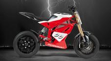 Moto elettriche, l'ex pilota Reggiani debutta come costruttore: ecco la ThunderVolt NK-E