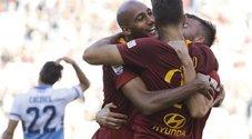Roma-Lazio, le foto della partita