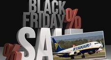 Il Black Friday di Ryanair: «Voli a meno di 10 euro dalla mezzanotte del 22»