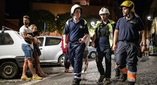 Immagine Terremoto, la lunga notte di paura a Colonna