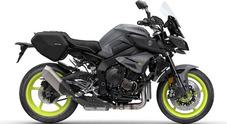Yamaha MT-10 Tourer Edition, la hyper naked al top di gamma aumenta comfort e praticità