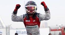 L'Audi di Abt vince il 2° ePrix di Hong Kong. Mortara con la Venturi in testacoda nei giri finali
