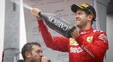 Vettel: «Mi sono proprio divertito»