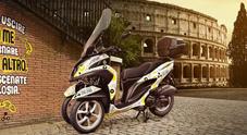 Zig Zag Scooter Sharing, ecco 200 Yamaha Tricity per evitare il traffico di Roma