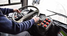 Per 13 ore consecutive alla guida  dell'autobus: multato, via la patente