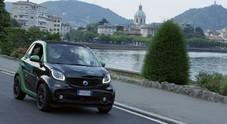 """Smart elettriche per i turisti sul lago di Como. Al via servizio di """"courtesy car"""" promosso con Vacay"""