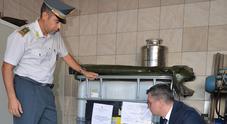 Maxi sequestro di olio d'oliva:  2mila litri donati alla Caritas