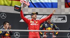 Riscatto Vettel, tra caos e show