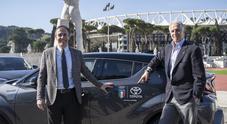 Toyota CH-R vettura ufficiale per l'Italia Team alle Olimpiadi di Tokyo