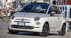 """Fiat 500, sfila una modella da """"Collezione"""""""