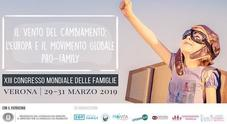 Il manifesto del Congresso Mondiale delle Famiglie a Verona