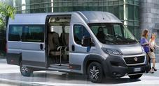 Nuovo Ducato Minibus da 14 o 17 posti. Fiat Professional completa gamma per il trasporto persone