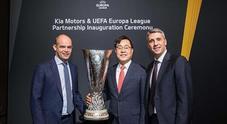 Kia sponsor della Uefa Europa League. Fino a 2021 fornirà 90 veicoli ad arbitri, delegati e funzionari