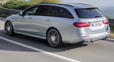 Mercedes Classe E wagon, la familiare tecnologica che sorpassa da sola