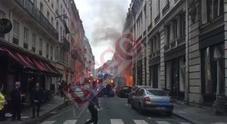 Esplosione a Parigi, il video esclusivo