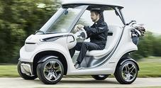 Mercedes si dà al golf, in arrivo la mini car premium per spostarsi tra i green