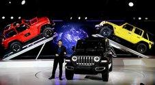 Stelle americane, a Los Angeles sotto i riflettori la nuova Jeep Wrangler e le supercar