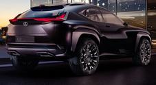Lexus UX, in anteprima a Parigi un prototipo di crossover dedicato ai giovani