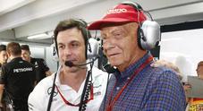 Lauda, Wolff: «Niki eroe e leggenda, lascia un grande vuoto»