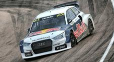 WRX, in Germania Ekström (Audi S1) torna al successo. Le Peugeot di Hansen e Heikkinen sul podio