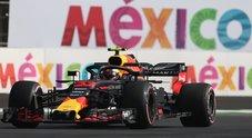 GP Messico, Verstappen velocissimo. Red Bull domina prime libere, 5° Hamilton, 7° Vettel