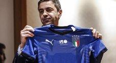 Italia, la nuova maglia della Nazionale di calcio