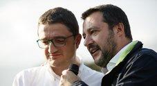 Matteo Salvini con Maurizio Fugatti