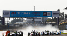 Formula E, le più belle immagini dell'e-prix di Città del Messico