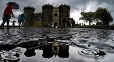 Maltempo sulla Campania, allerta meteo declassata: da arancione a gialla