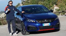 Peugeot 308 GTi, tester d'eccezione anche il re italiano del rally Andreucci