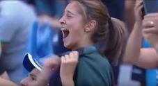 Gol di Verdi, l'esultanza della giovane tifosa del Napoli è virale |Video