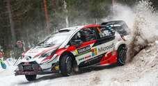 Rally Svezia, vince la Toyota Yaris di Tanak nuovo leader del WRC. Lappi (Citroen) e Neuville (Hyundai) sul podio