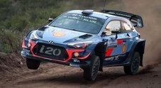 WRC Argentina, la Hyundai di Neuville in testa dopo lo stage inaugurale