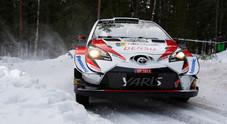 WRC, nuovo cambio in testa al Rally di Svezia: Tanak (Toyota Yaris) vola verso la vittoria