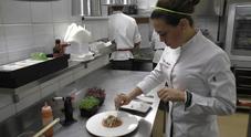 Calamaro arrostito: ai fornelli la Top Chef Italia Fabiana Scarica