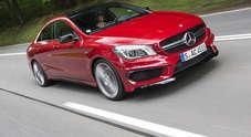Mercedes CLA AMG, il bolide docile: effetto dragster su un'auto da tutti i giorni