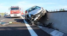 Schianto in autostrada Si aggrava anche la moglie: 3 in prognosi riservata