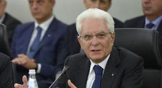 Mattarella ai membri del Csm: «Magistrati non rispondono a opinioni correnti ma solo alla legge»