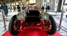 La mitica Lancia Epsilon del 1912 in mostra alla Galleria Sordi