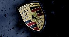 Il logo Porsche